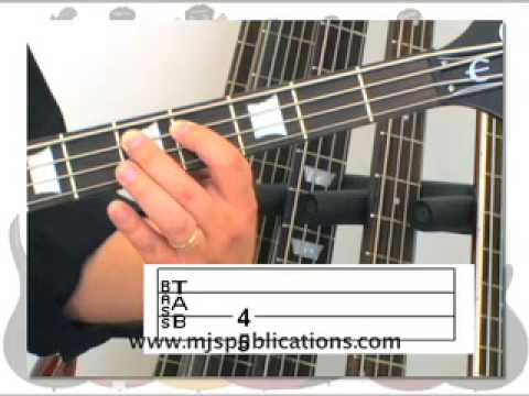 HOW TO READ BASS GUITAR TAB - YouTube