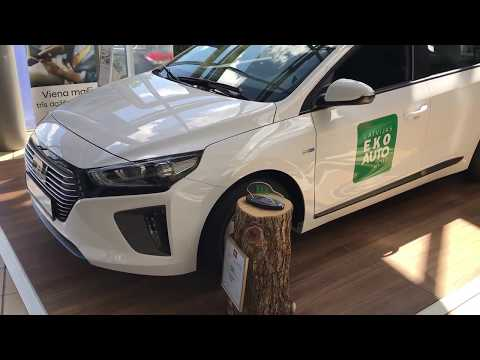 Фото к видео: Hyundai Ioniq, большой, экономичный, дешевый