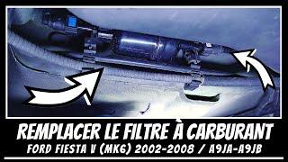 Comment changer le filtre à carburant sur Ford fiesta MK6 ⛽