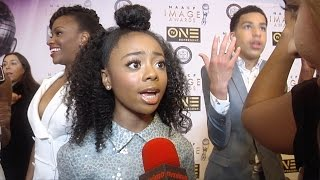 Skai Jackson on her NAACP Image Award 2016 Nomination for Outstanding Performance