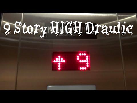 9 Story Minnesota Hydraulic Elevator Hilton Garden Inn Mankato MN