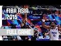 India v Japan - Group A - Full Game - 2015 FIBA Asia Championship