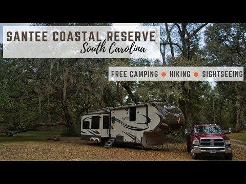 Free Camping At Santee Coastal Reserve In South Carolina