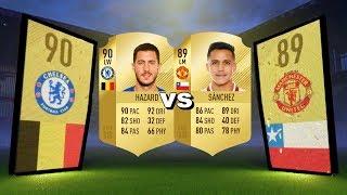 FIFA 18 HAZARD VS ALEXIS SANCHEZ PLAYER REVIEW