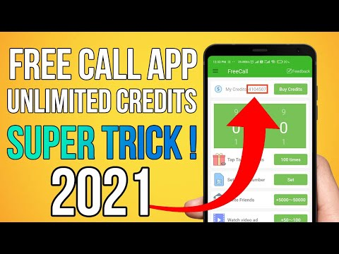 Free Call Unlimited Credit App   Get Unlimited Credits In FreeCall App   Fake Call Alternative