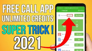 Free Call Unlimited Credit App | Get Unlimited Credits in FreeCall App | Fake Call Alternative screenshot 3