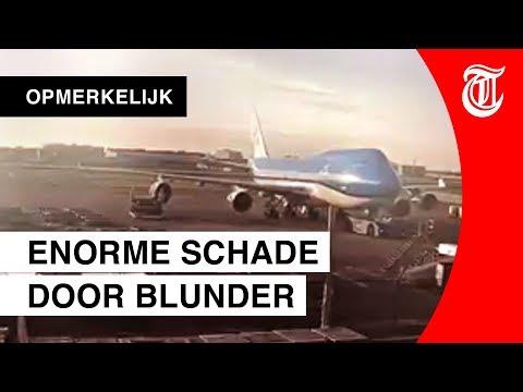 Mega-blunder met Boeing op Schiphol