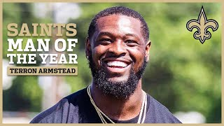 Terron Armstead - Saints 2019 Man of the Year