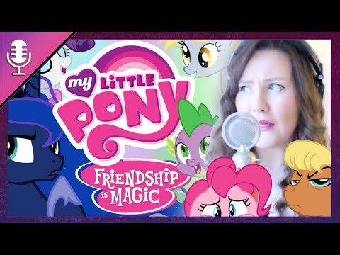 CANT STOP THE FEELING Sung In MLP Voices