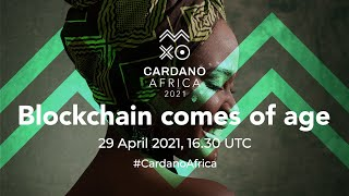 #CardanoAfrica – Join us for this very special event