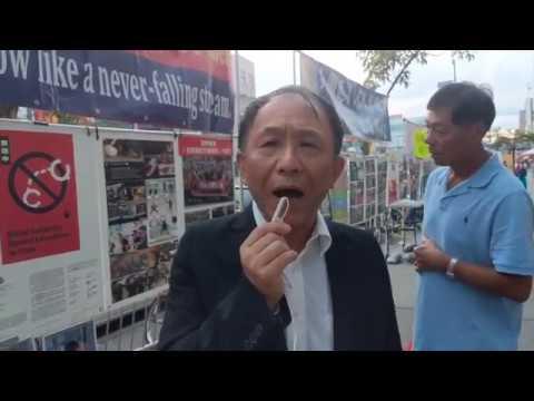 陈破空:连侬墙,纽约法拉盛:港人绝地反抗,海内外华人都不应该沉默。每逢周末来相聚