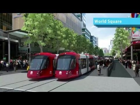 Sydney's Light Rail Future With Audio Commentary- Transport For New South Wales