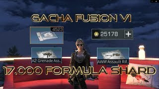 Lifeafter Gacha Fusion VI RIP 17.000 FORMULA SHARDS / 34.000 FED CREDITS