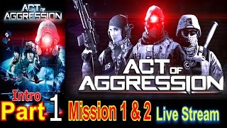 Hovac One Live Stream Act Of Aggression Walkthrough Gameplay Lets Play