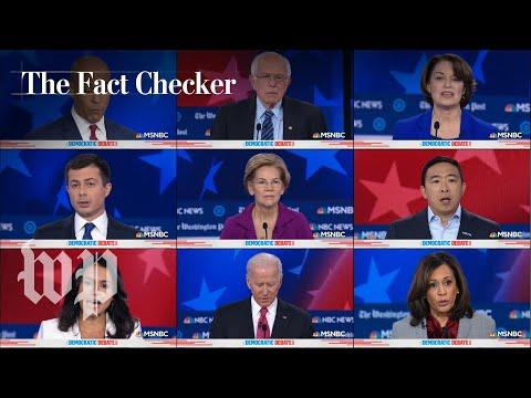Fact-checking the November Democratic presidential debate   The Fact Checker