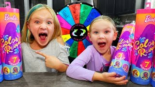 Mystery Wheel Picks My Color Reveal Barbie!!