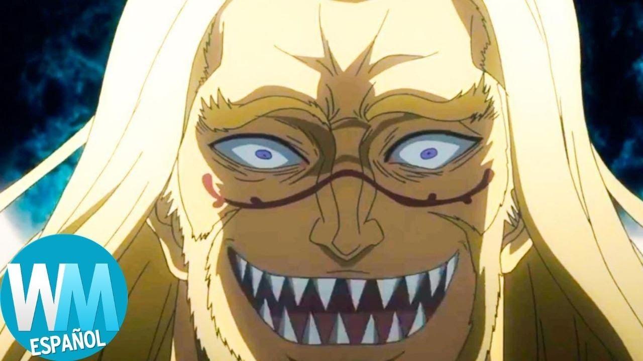 ¡Top 10 Momentos en los que VILLANOS de Anime Fueron DEMASIADO LEJOS!