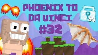 Growtopia - Phoenix To Da Vinci #32 | 50 DLS FROM VENDING MACHINES!!