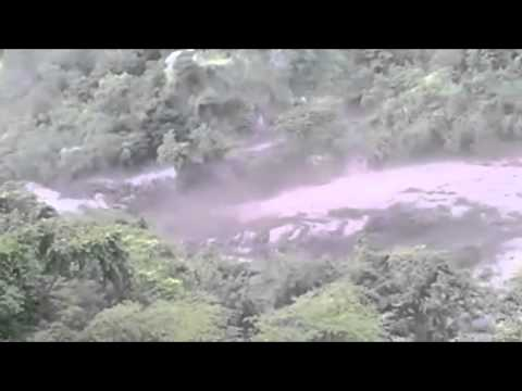 Imágenes de la avalancha en Bolívar, Cauca