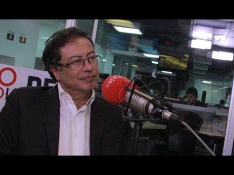 COMPRAR no es EXPROPIAR - PETRO en Caracol Radio  HORA 20
