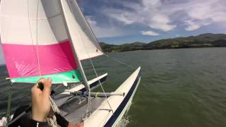 Dart 18 Catamaran Sailing Llanfairfechan - Flying Welshmen