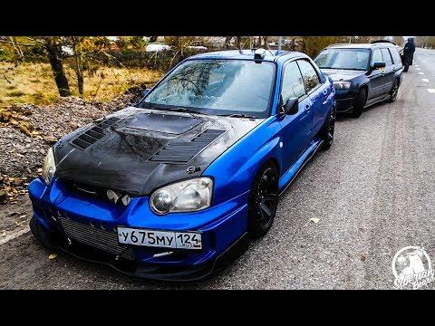 Subaru WRX VS EVO 3.9 до ста #Большой ЗАМЕР