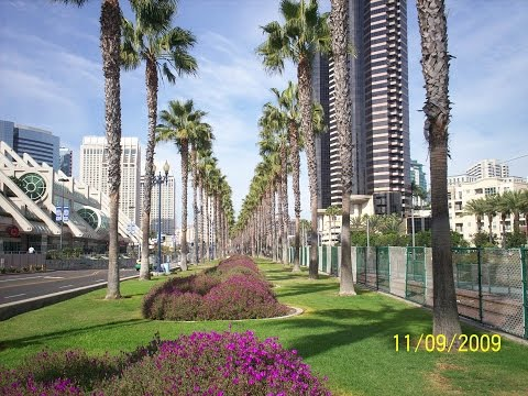 Convention Center in Downtown San Diego California USA