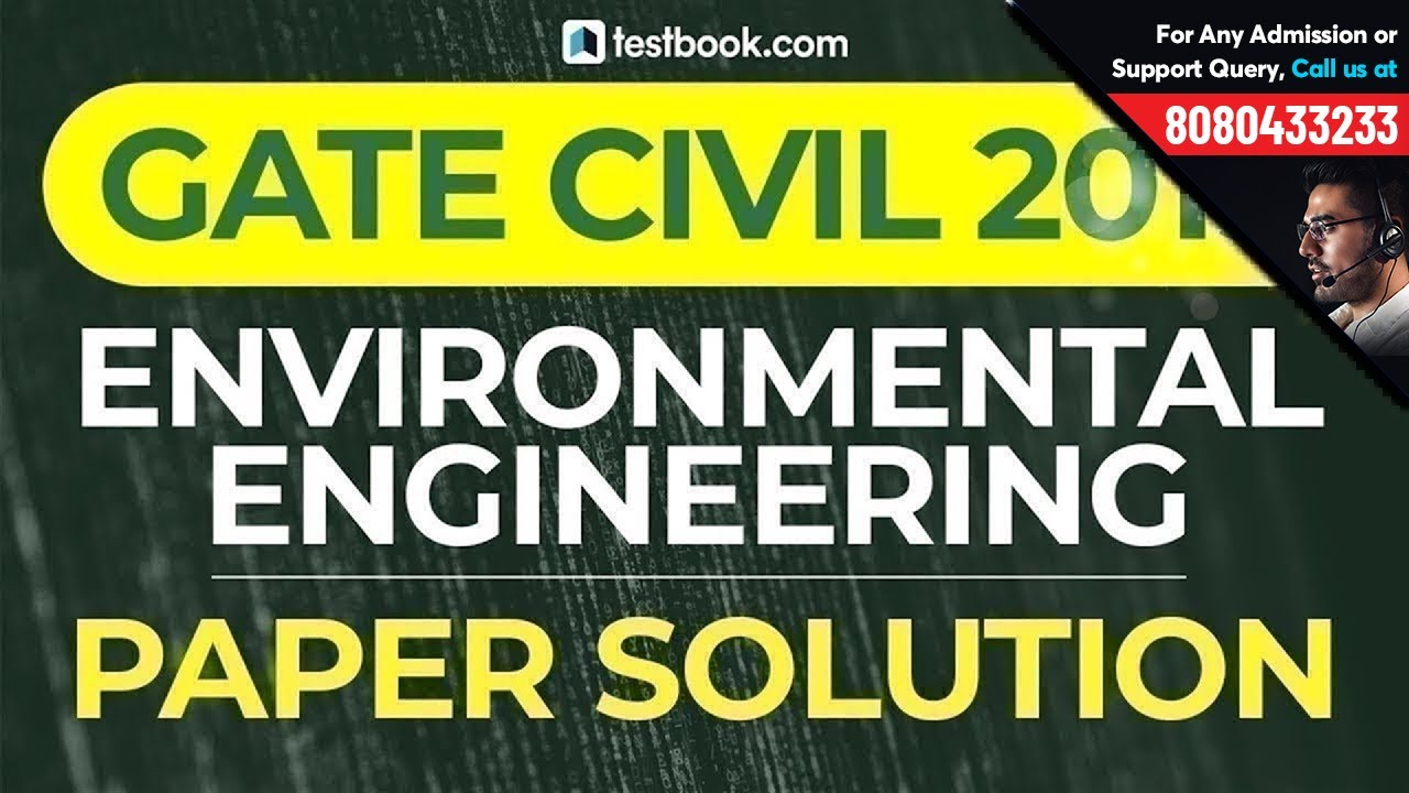 GATE 2019 CE Answer Key | Environmental Engineering Civil Paper Analysis |  GATE Civil 2019