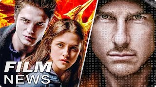 Tom Cruise Stunt missglückt - neue TWILIGHT oder PANEM Filme? - FILM NEWS
