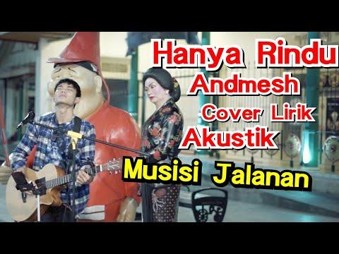 Hanya Rindu Andmesh Lirik  Tri Suaka Cover Akustik  #musisijogjaproject