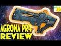 Destiny 2: WARMIND AGRONA PR4 review!!!!! The nergal pr4's pve brother!!!!
