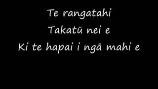 Pātea Māori Club ft. Annie Crummer - Ngoi Ngoi Lyrics thumbnail