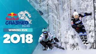 Who won Red Bull Crashed Ice 2018 Finland - Women's Winning Run.