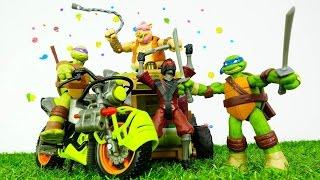#çocukvideo çizgi filmden Ninja Kaplumbağaların piramit macerası. Türkçe izle! Erkek çocuk oyunları