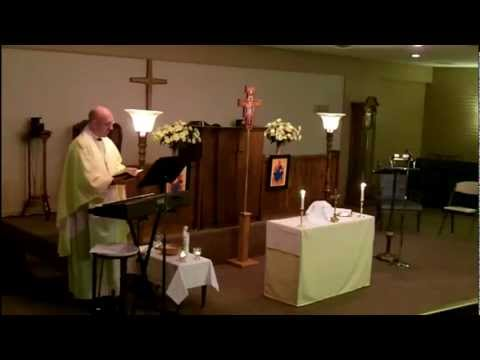 The Feast of Christ the King - November 25, AD 2012 - Saints Mary and Martha Anglican Church