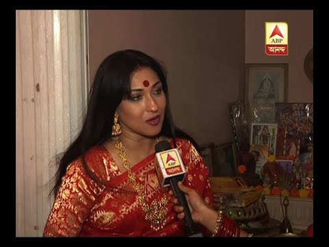 Actress Rituparna Sengupta prays for peace, happiness on Lakshmi puja
