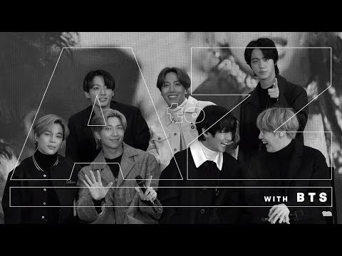 A To Z: BTS Revamp The English Alphabet | Entertainment Weekly