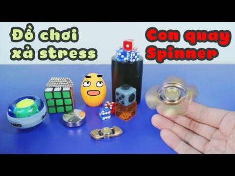 Spinner và những trào lưu đồ chơi xả stress