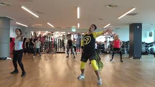 Thalia - Gente de Zona - Lento - zumba Fitness Choreography by Papi UK