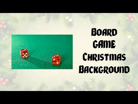 Christmas Music Board Game Background