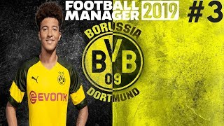 FIRST LEAGUE GAMES! | Borussia Dortmund Career Mode | Football Manager 2019 Let