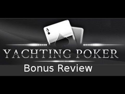 The Yachting Poker Deposit Bonus | PokerBonus Rating