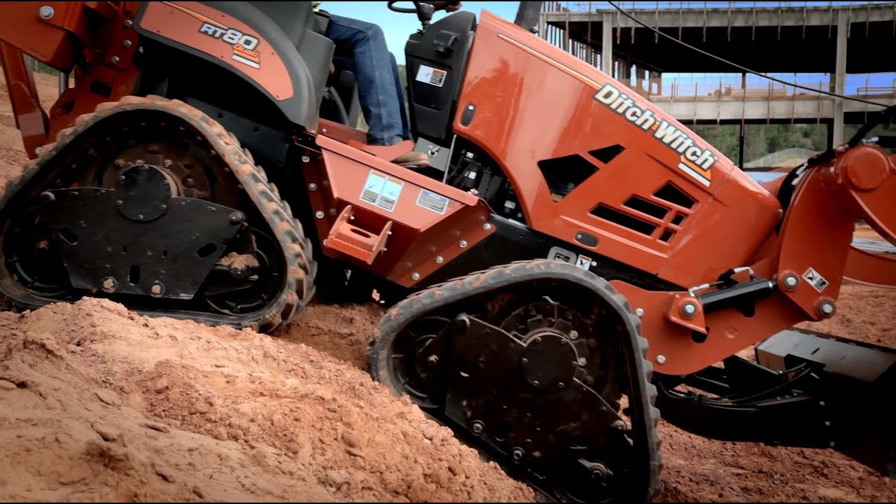Ditch Witch® RT80 Quad