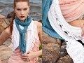 #13 Bias Rib Scarf, Vogue Knitting Spring/Summer 2011