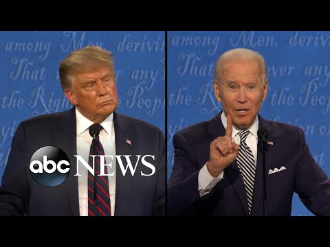 Trump and Biden address race issues in America