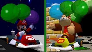 Mario Kart DS - Balloon Battle (All courses)