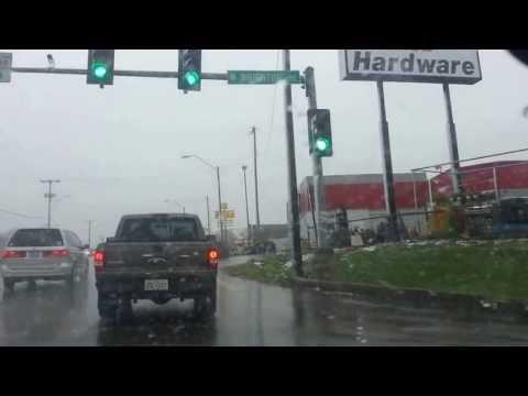 Driving around in Kansas City - May 2, 2013