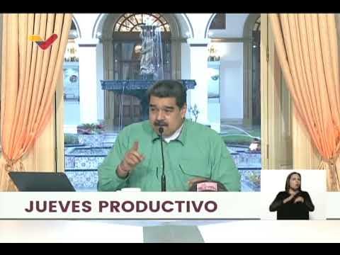 Maduro: Tenemos identificados a actores económicos que perturban el valor de la moneda