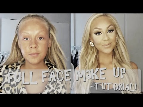 Full Face Make up - tutorial!