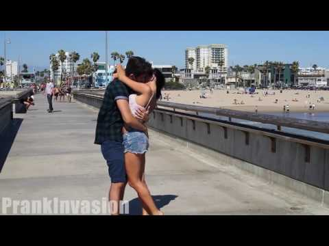 Top 3 Kissing Pranks GONE WILD Best Kissing Pranks Of The Month 2016
